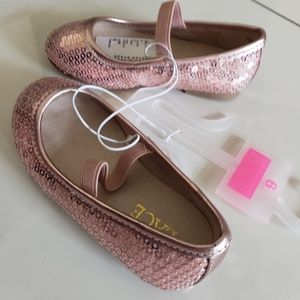 NWT CHILDREN'S PLACE Pink Ballerina Shoes